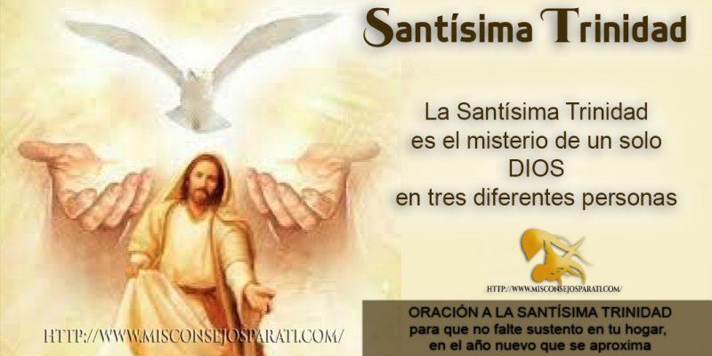 Oración A La Santísima Trinidad Para Que No Falte Sustento